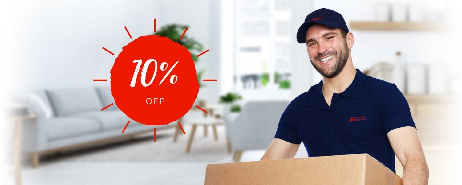 10% discount AR Removals Special Offers